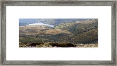 Kinder Scout Panorama Framed Print