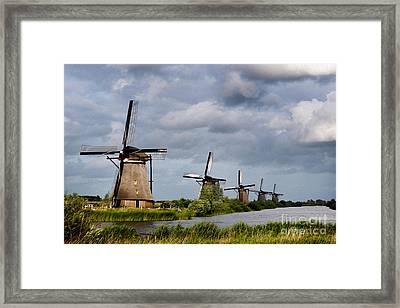 Kinderdijk Framed Print by Borislav Stefanov