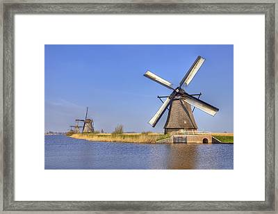 Kinderdijk Framed Print by Joana Kruse