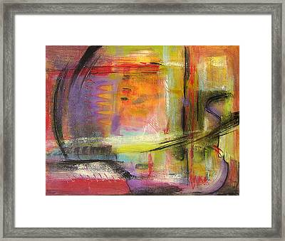 Kindness Of Strangers Abstract Framed Print