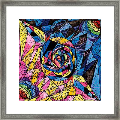 Kindred Soul Framed Print by Teal Eye  Print Store
