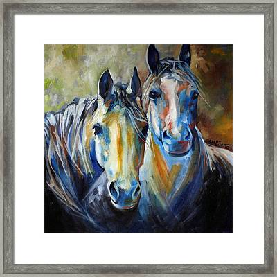 Kindred Souls Equine Framed Print