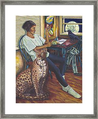 Kindred Spirits Framed Print