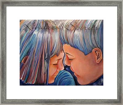 Kindred Spirits II Framed Print