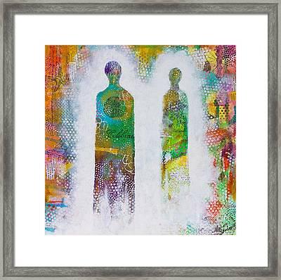 Kindred Spirits Framed Print