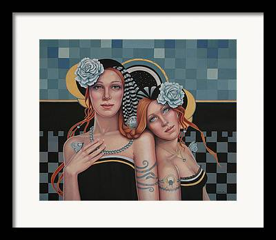 Mystical Women Framed Prints