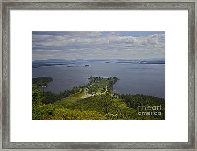 Kineo View Framed Print by Alice Mainville
