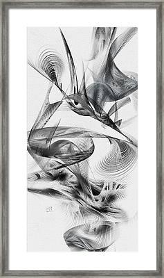 Kinetic 3 Framed Print