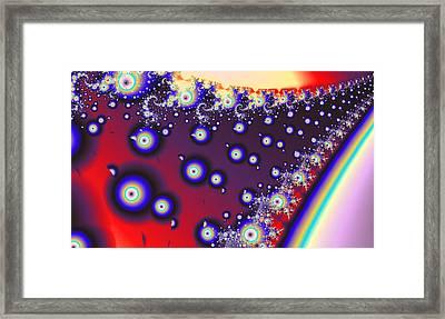 Kinetic Flow Framed Print