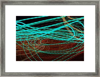 Kinetic Framed Print