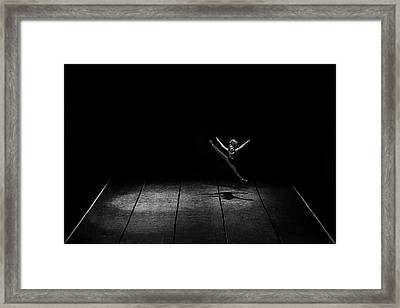 Kinetic Framed Print by Nemanja Jovanovic