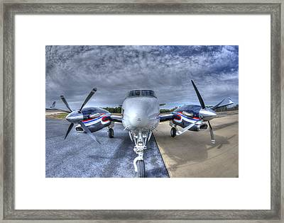 King Air C90 Framed Print