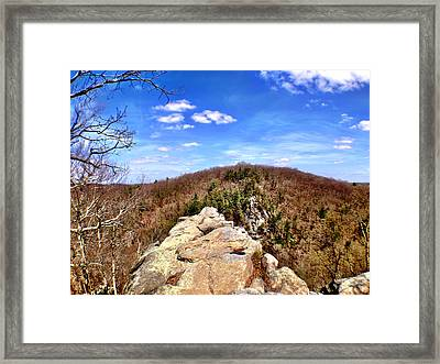 King And Queen's Seat Framed Print