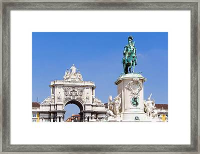 King And Triumph Framed Print by Jose Elias - Sofia Pereira