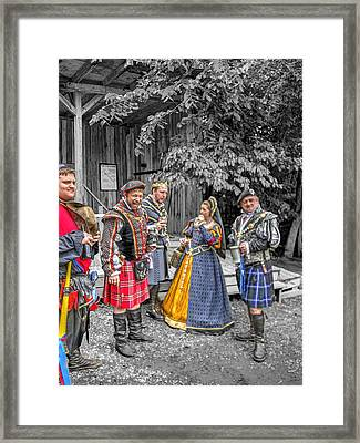 King Arthur At Gandalf's Garden Avalon V2 Framed Print