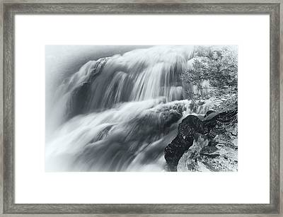 King Creek Falls Framed Print by Jonathan Nguyen