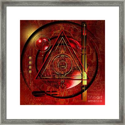 King Crimson Framed Print