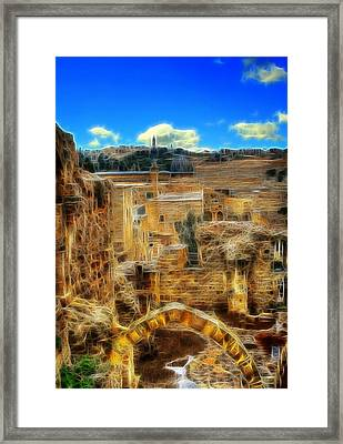 King Davids House Framed Print