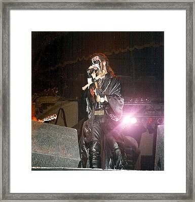 King Diamond Framed Print by Sheryl Chapman Photography