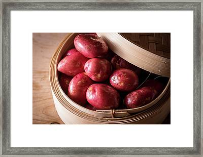 King Edward Potatoes Framed Print by Aberration Films Ltd