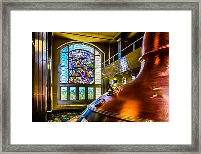 King Gambrinus Framed Print