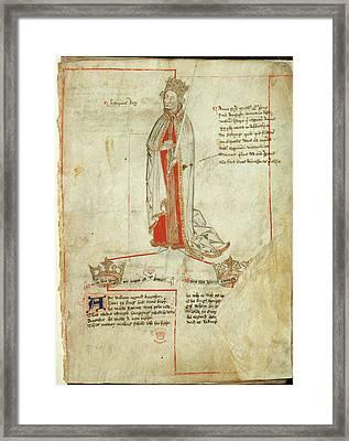 King Henry I Framed Print