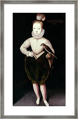 King James I Of England Framed Print