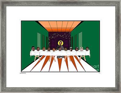King Kendrick Framed Print by Brad Beatson