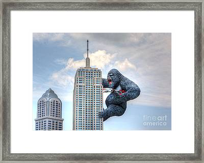 King Kong Comes To Myrtle Beach Framed Print