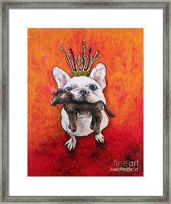 King Leroi Framed Print by Dori Hartley