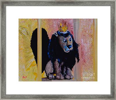 King Moonracer Framed Print