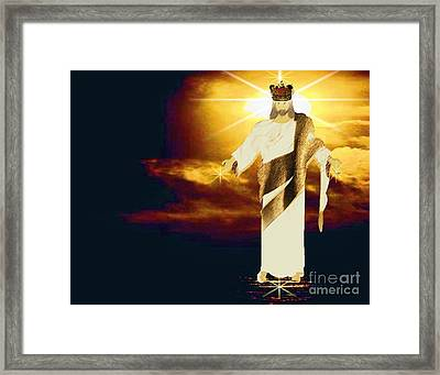 King Of All Kings Framed Print