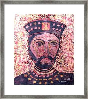 King Of Antiquity Framed Print