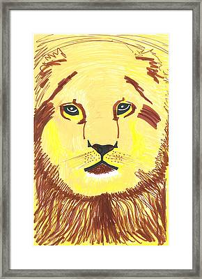 King Of Beasts Framed Print by Don Koester