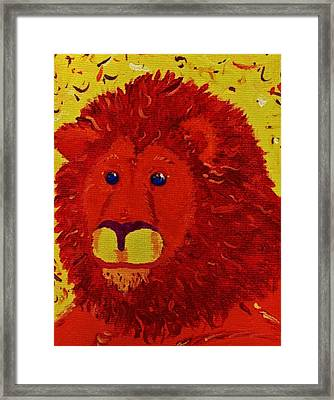 King Of Beasts Framed Print