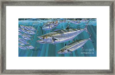 King Of Kings Off0090 Framed Print by Carey Chen