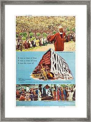 King Of Kings, Us Poster Art, 1961 Framed Print by Everett