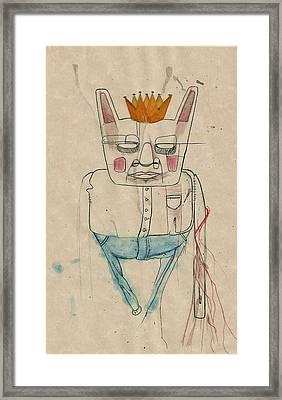 King Of The House Framed Print by Noah Zark