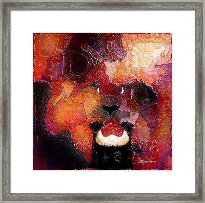 King Of The Jungle-featured In Comfortable Art-faa Gallery Artists Who Create And Wildlife Groups Framed Print by EricaMaxine  Price