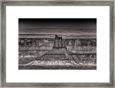 King Of The Land Framed Print by Juan Carlos Diaz Parra