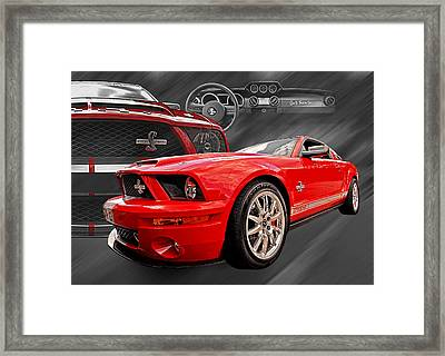 King Of The Road Framed Print by Gill Billington