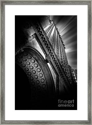 King Of The Skies Framed Print by Az Jackson