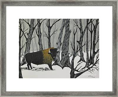 King Of The Woods Framed Print