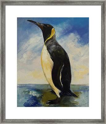 King Penguin Framed Print