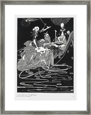 King Pest Framed Print by British Library