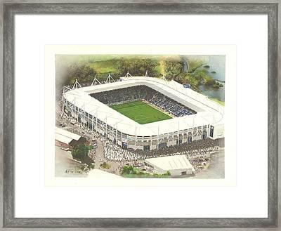 King Power Stadium - Leicester City Framed Print