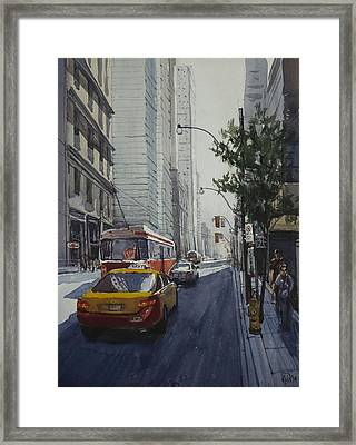 King Street 01 Framed Print