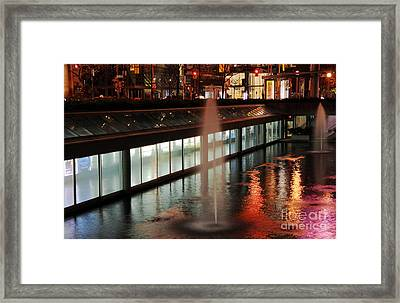 King Street West Framed Print