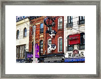 King Street West Framed Print by Nicky Jameson