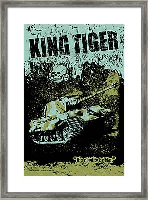King Tiger 334 Framed Print by Philip Arena